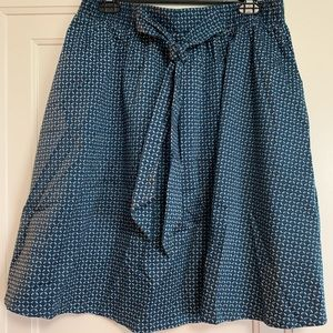 Cute black and teal H&M skirt.
